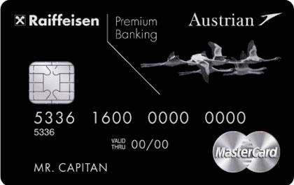 Кредитная карта Austrian Airlines Black Edition Райффайзенбанк